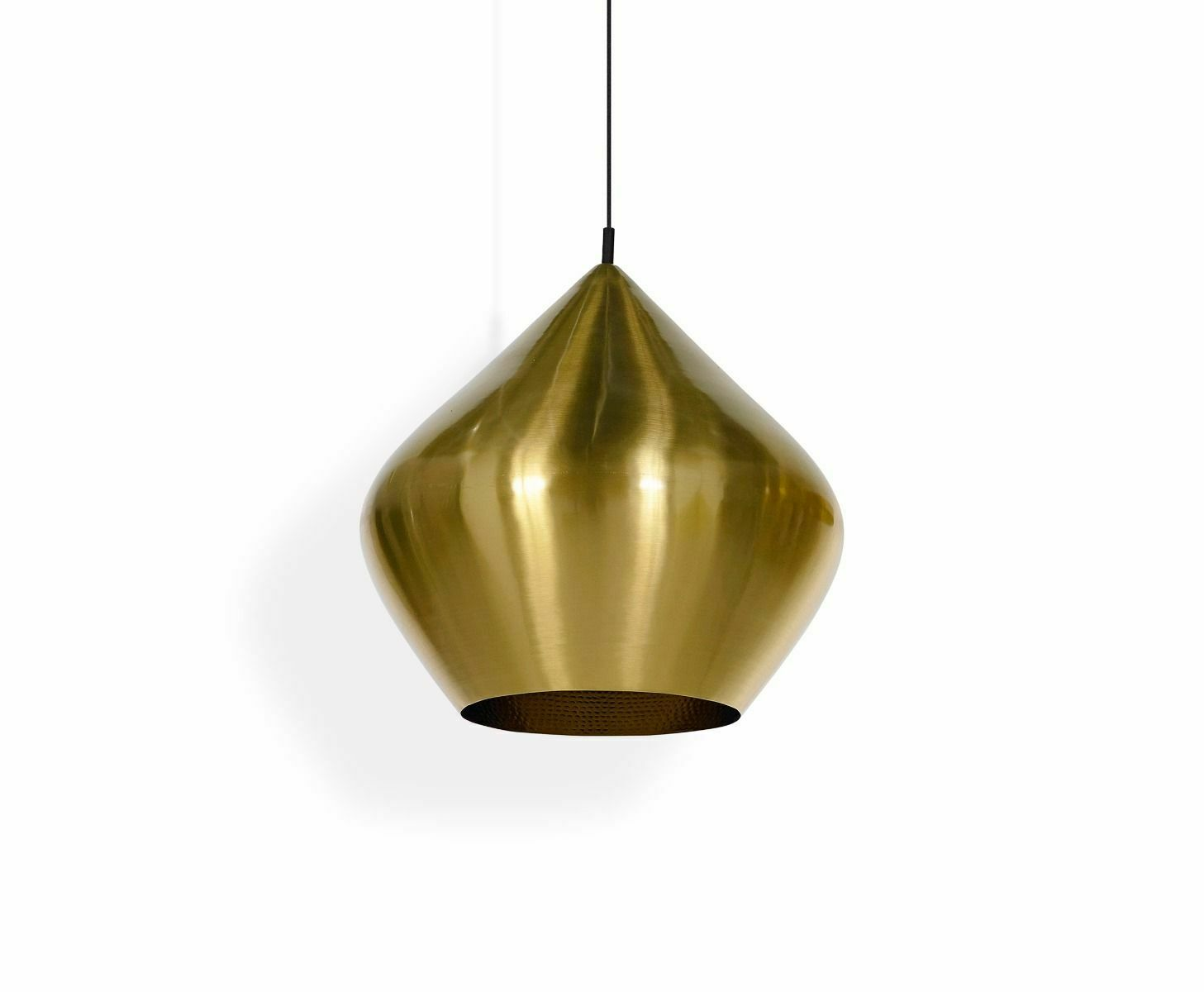 Messing Lampe Tom Dixon Beat Stout Brushed Pendant Messing Decken Leuchte Hänge Lampe Messing