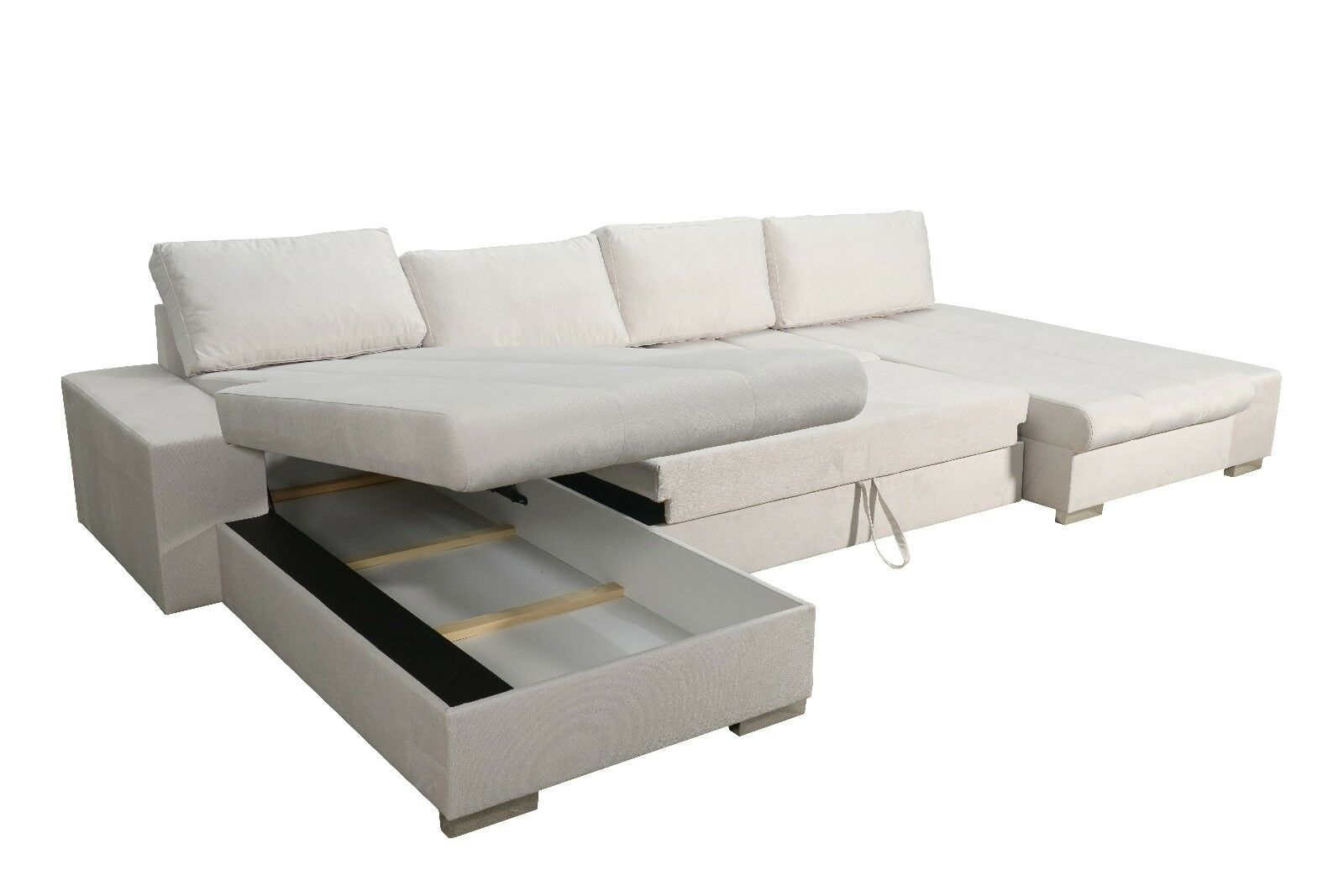 Couchgarnitur Mit Schlaffunktion Sofa Couchgarnitur Schlaffunktion Couch Sofagarnitur Verona 7 U Ottomane Links