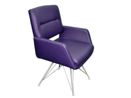 K+W Silaxx 6115 SC Sessel Mit Vierfuß Edelstahl Mit Metallstreben   Esszimmer  K W
