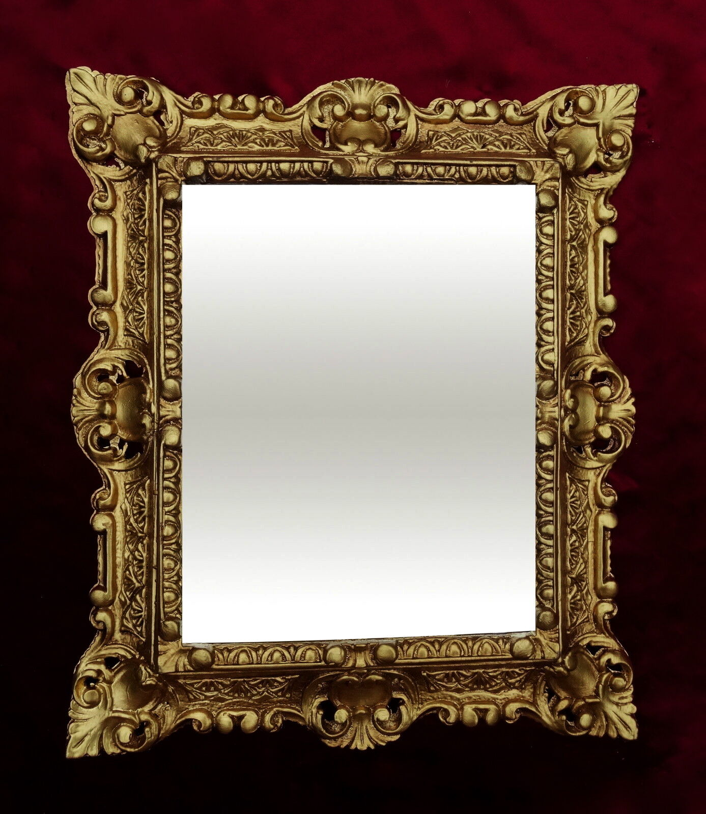 Rahmen barock sch n schwarz und gold gerahmte spiegel - Schwarzer barock spiegel ...