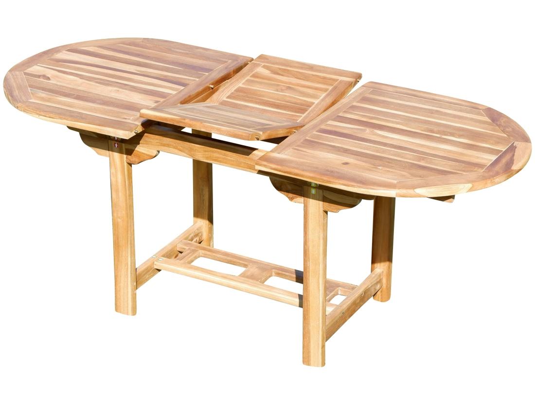 Ausziehbarer Gartentisch Merxx Merxx Gartentisch Akazienholz