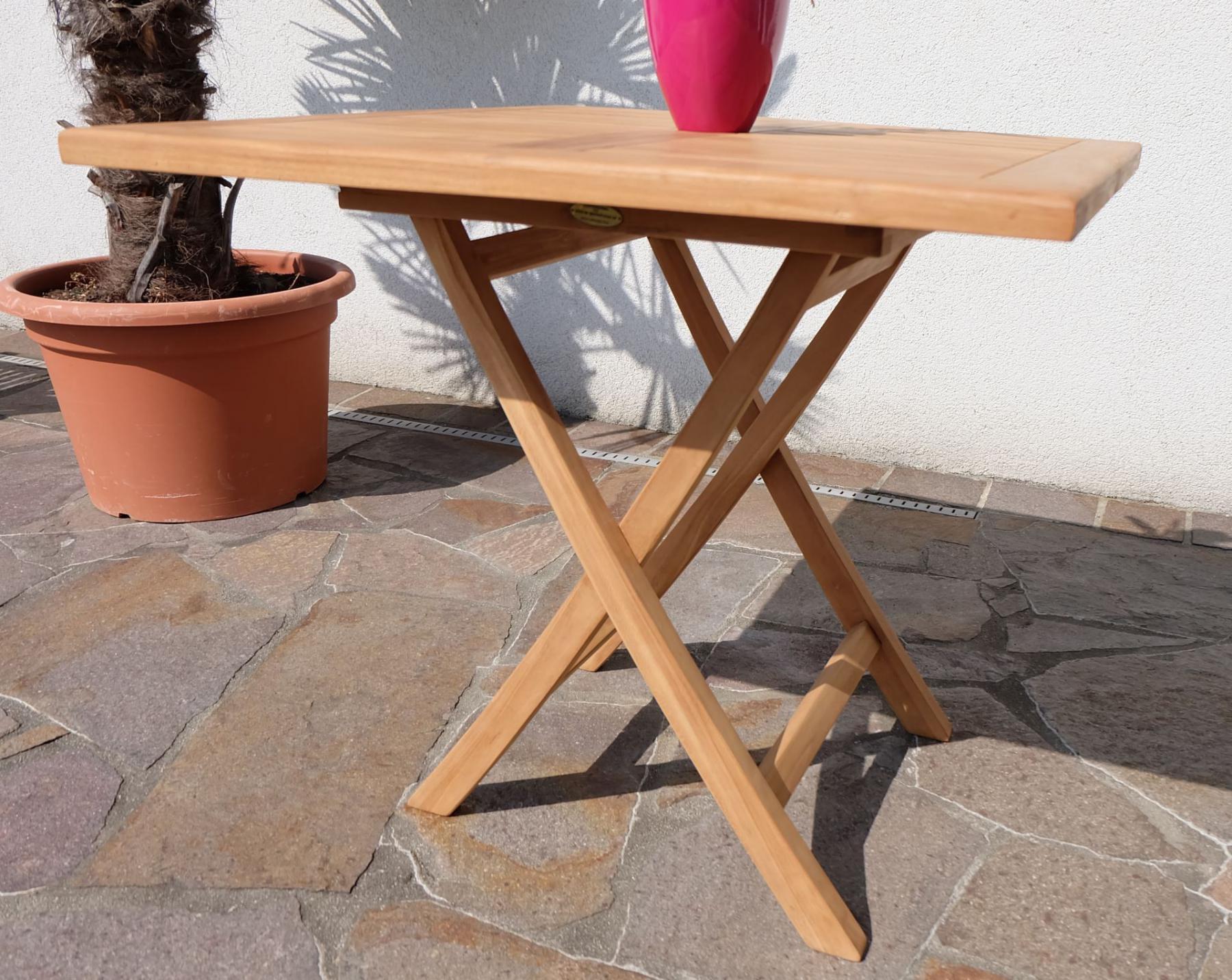 Gartentisch Quadratisch 80x80 Gartentisch 80x80 Metall Best