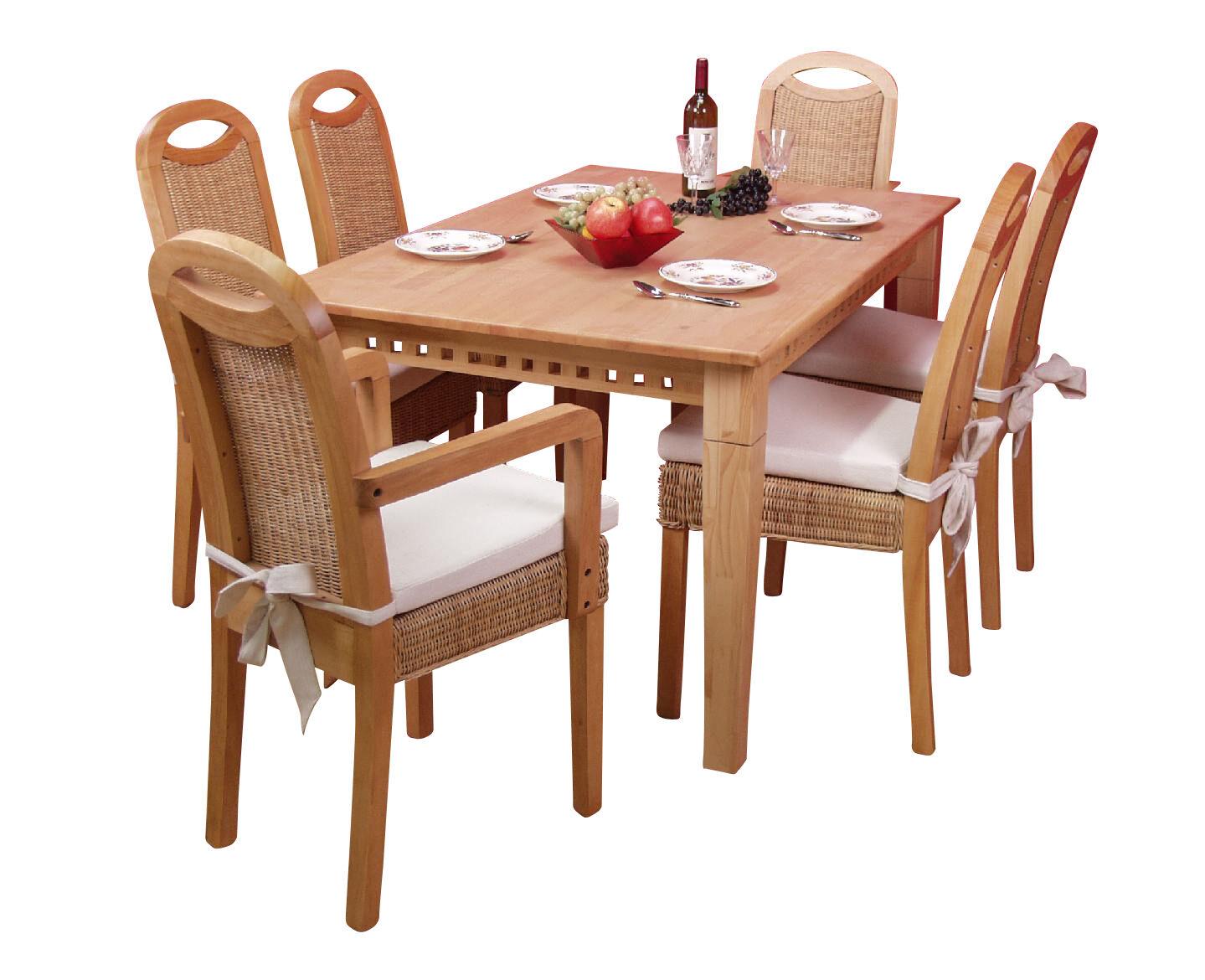 Rattanstuhle Esszimmer 4 Alte Stuhle Mit Sitzflache Gepolstert