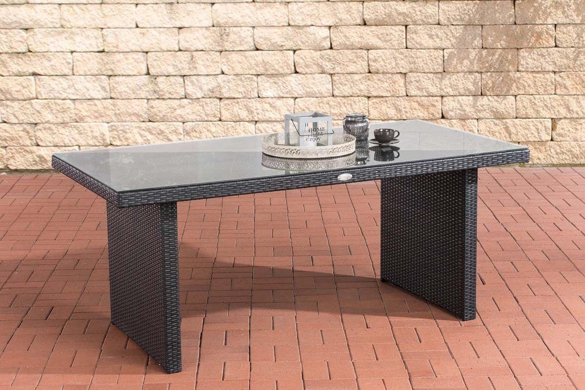Polyrattan Tisch Schwarz Tisch Rund Schwarz Dreams4home Couchtisch