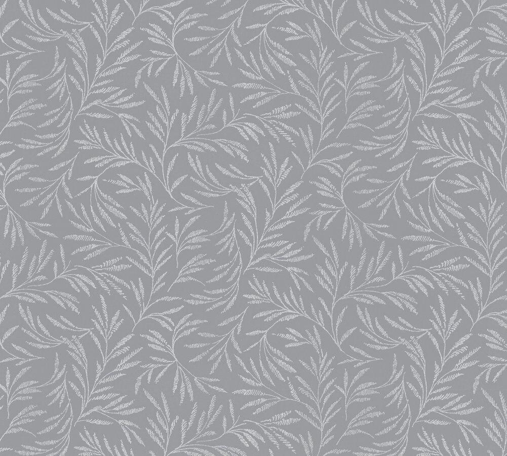 Tapete Grau Zweige