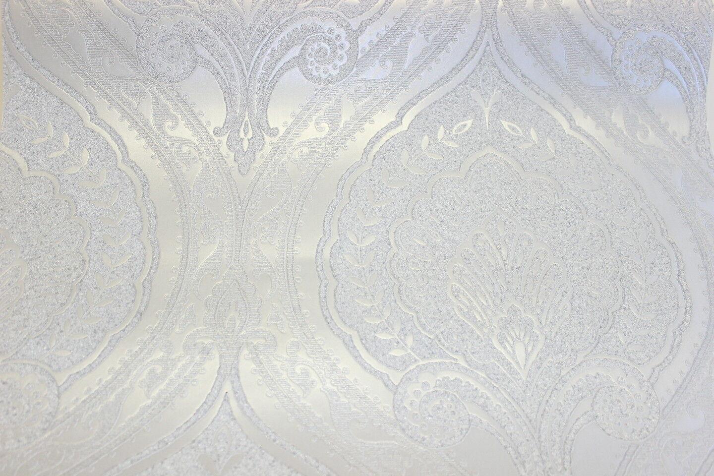 Silber Tapete Tapete Turkis Silber Uni As Creation 30177 3