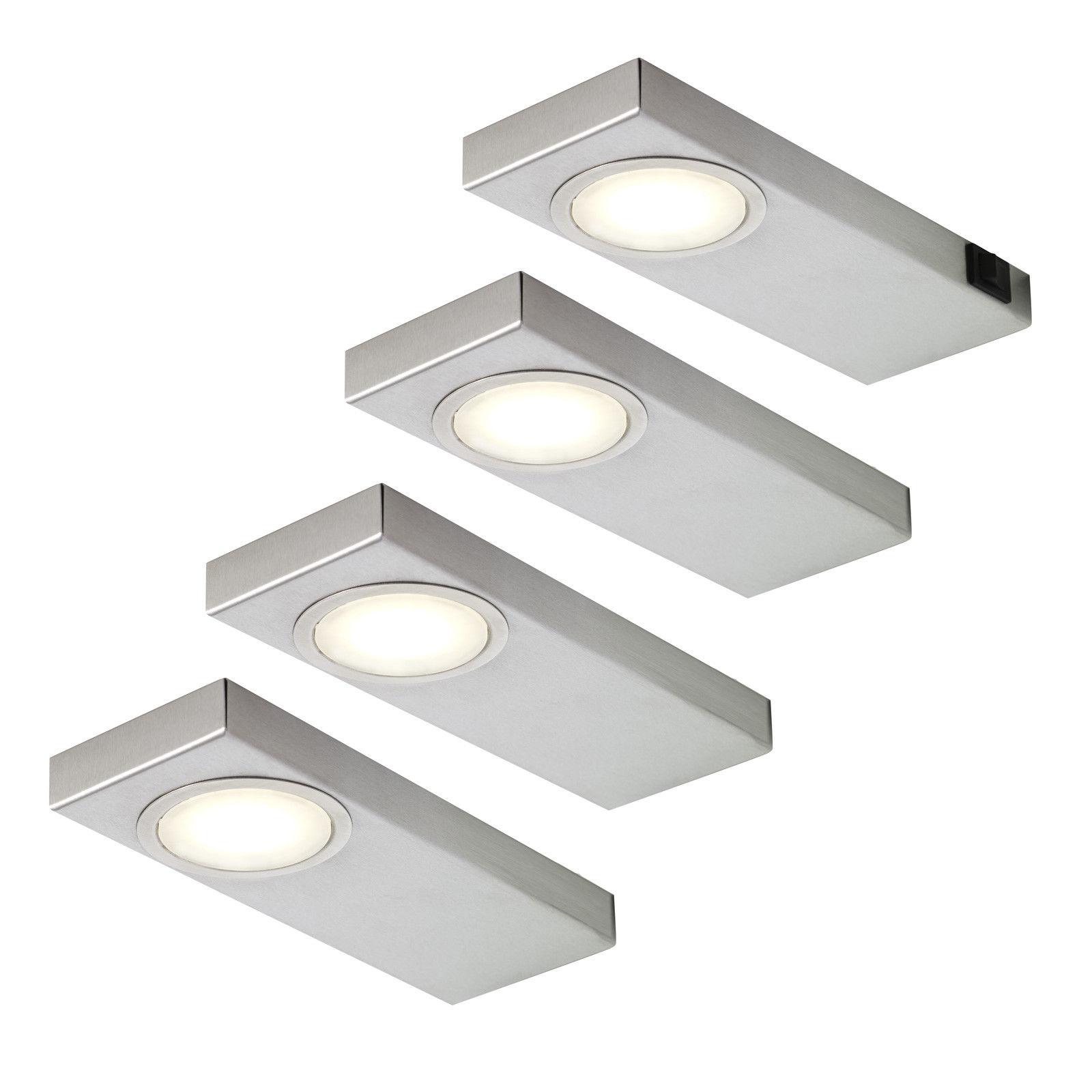 Unterbaulampen K che Led | Led Unterbauleuchte Ld 8046 2er Set
