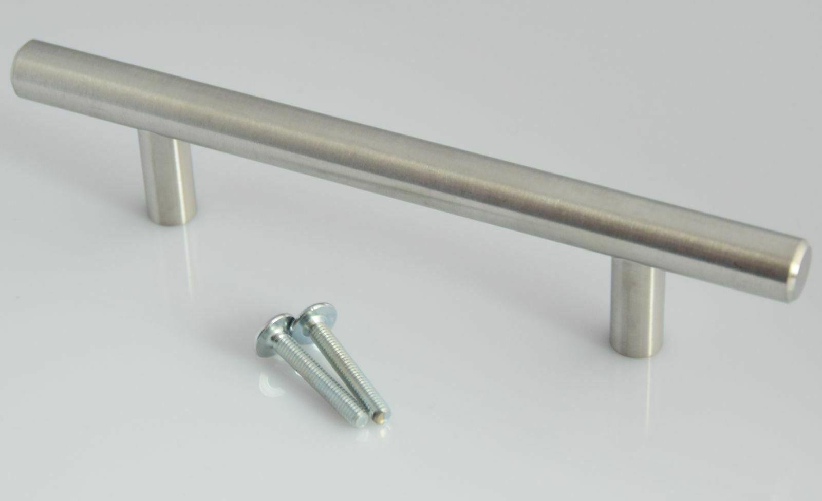 SO-TECH/® M/öbelgriff E3 echt Edelstahl BA 384 mm Stangengriff Relinggriff Profil 15 x 15 mm