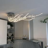 Wofi BENETT / LED Deckenleuchte / 2800 Lumen / 150 cm ...