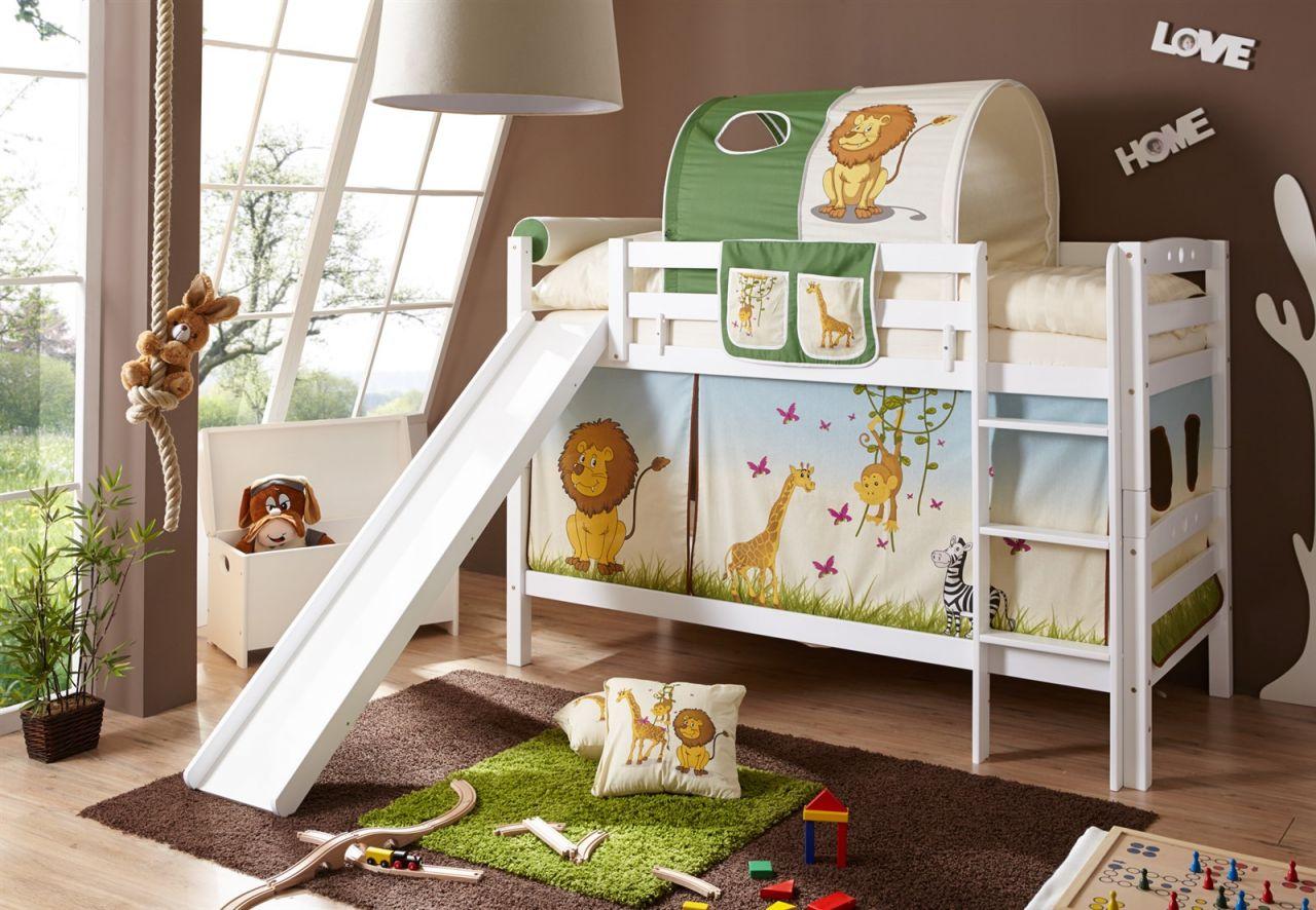 Rutsche Für Etagenbett : Frisch doppelbett mit rutsche hochbett online kaufen rutschbett