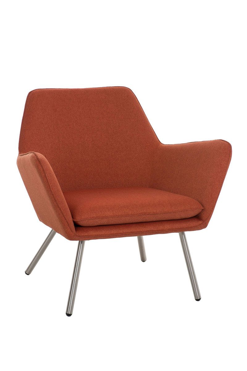 Designer Sessel Orange Sessel Coctailsessel Lounger Adele In Trend Design In Orange