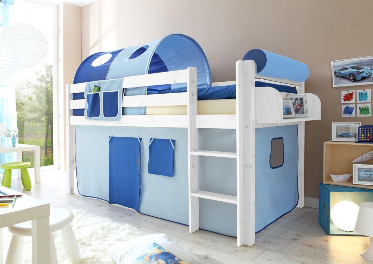 Vorhang Für Etagenbett : Vorhang hochbett frozen tunnel die eiskönigin blau