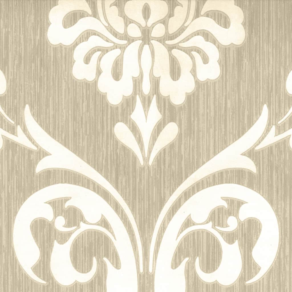 Ornament Tapete Dutch Wallcoverings Tapete Ornament Muster Braun Und Weiß 13110 30