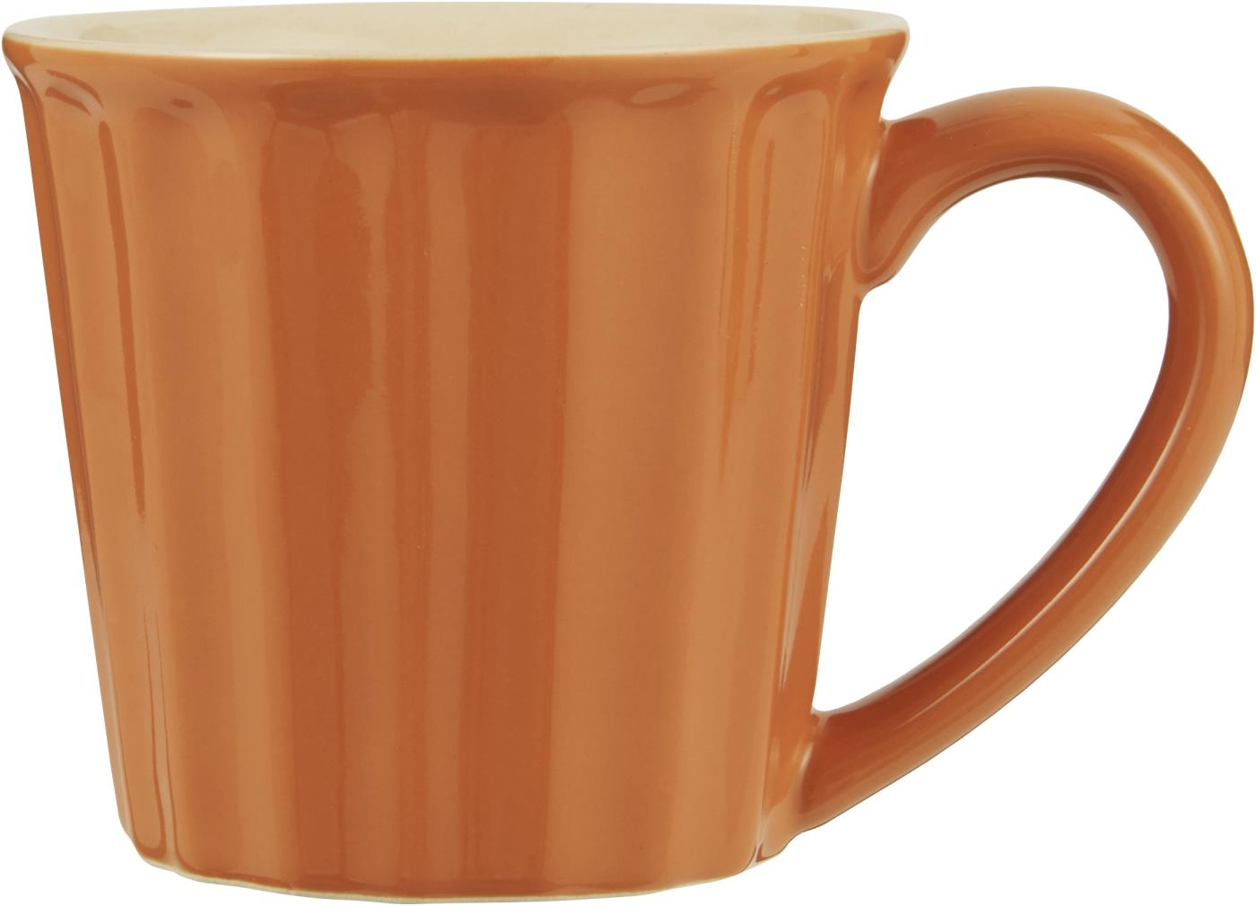 Geschirr Keramik Ib Laursen Becher Mynte Orange Keramik Geschirr Pumpkin Spice Tasse 250 Ml