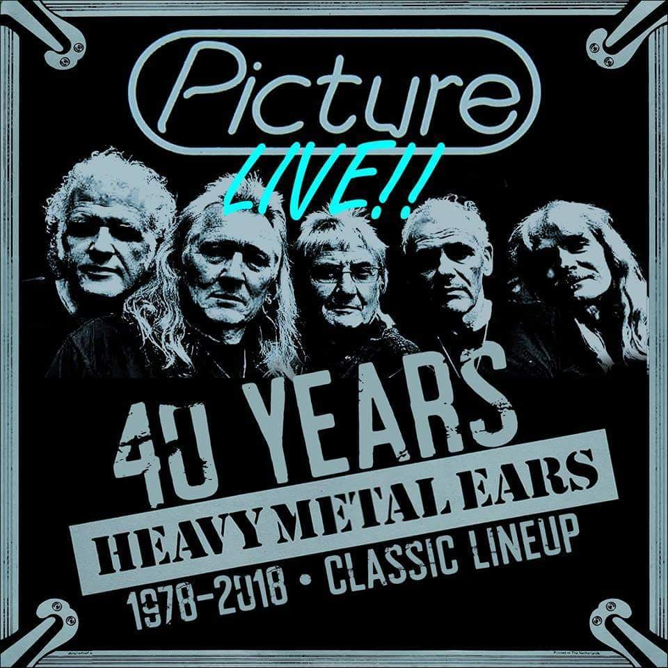On Heavy Metal Cd Picture Live 40 Years Heavy Metal Ears