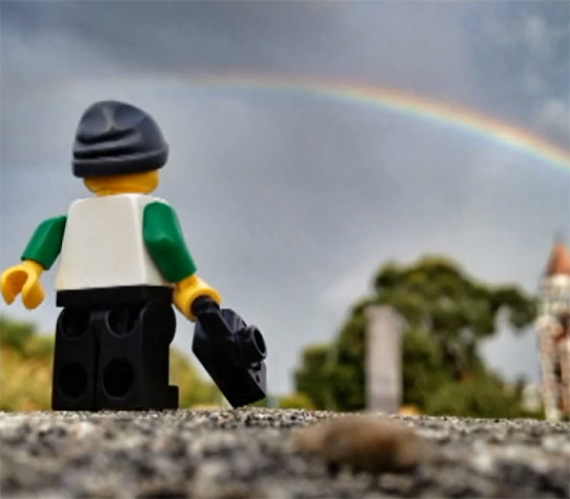 Cool Iphone Wallpaper Ideas Exploring Miniature Photography With A Lego Minifigure