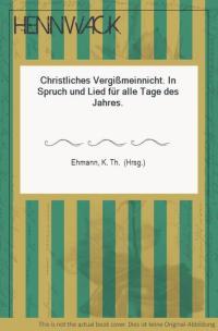 christliches vergissmeinnicht von ehmann - ZVAB