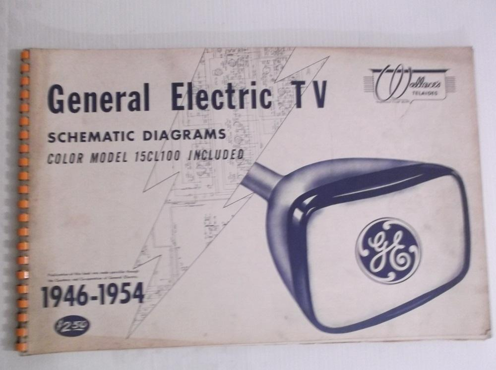 General Electric TV Schematic Diagrams 1946 - 1954 Color Model