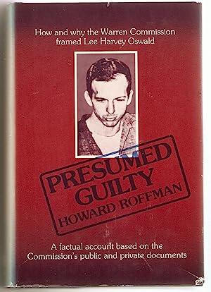 Presumed Guilty Howard Roffman - AbeBooks - presumed guilty book