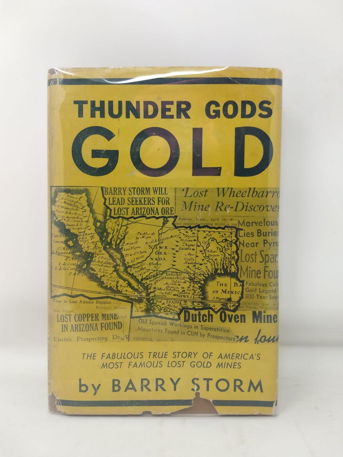 Dutch Oven Buch Thunder Gods Gold By Storm Barry Southwest Publishing Hardcover