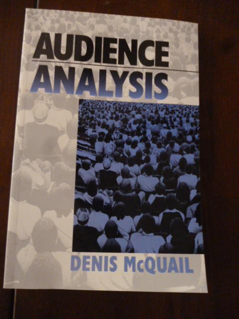 Audience Analysis by McQuail, Denis SAGE Publications, Inc