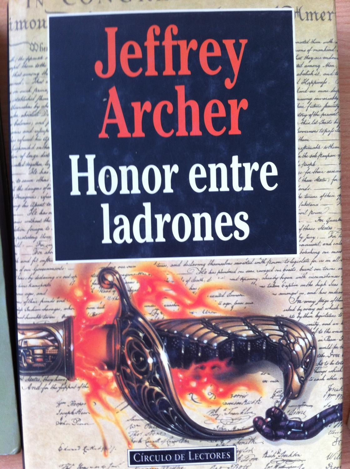 Jeffrey Archer Libros Honor Entre Ladrones