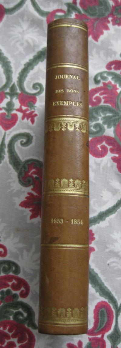 Le journal des bons exemples et des uvres utiles by Mr Claudius Hébrard: Girard et Josserand ...