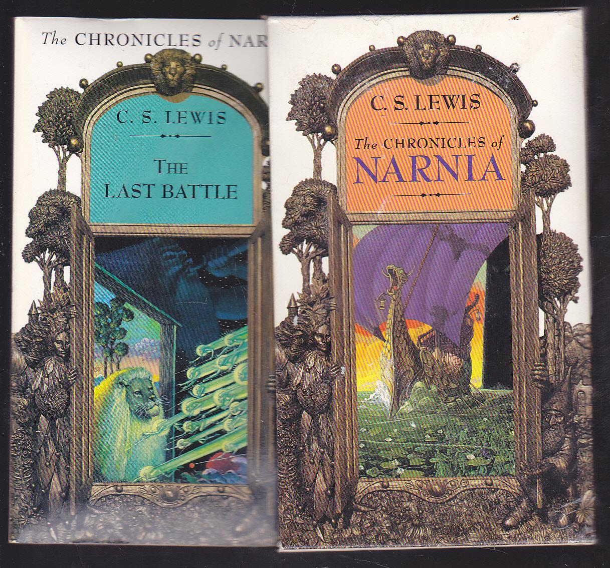 Libros De Narnia The Chronicles Of Narnia Boxed Set Of 7