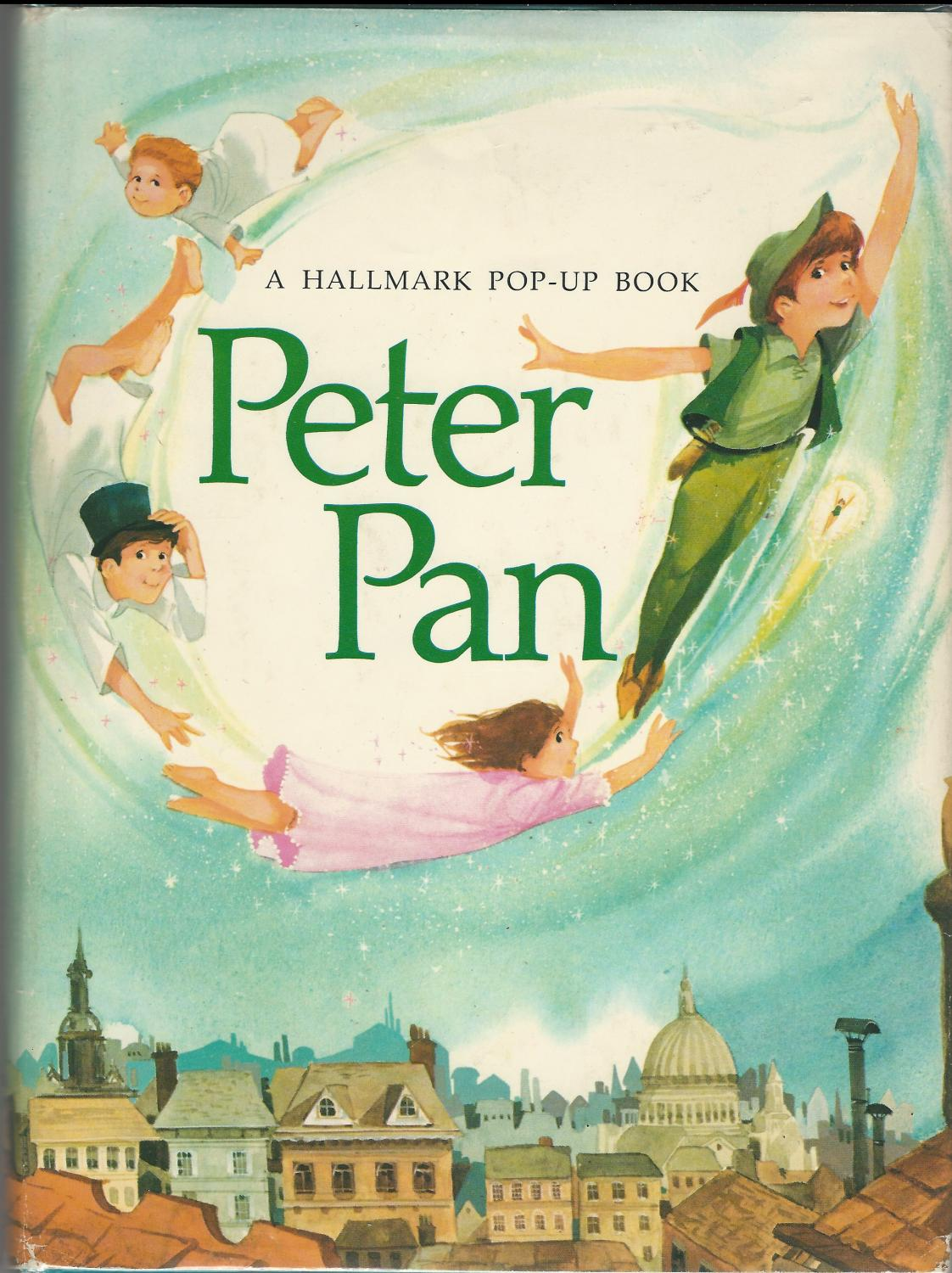 Pop Up Book Cover Peter Pan A Hallmark Pop Up Book