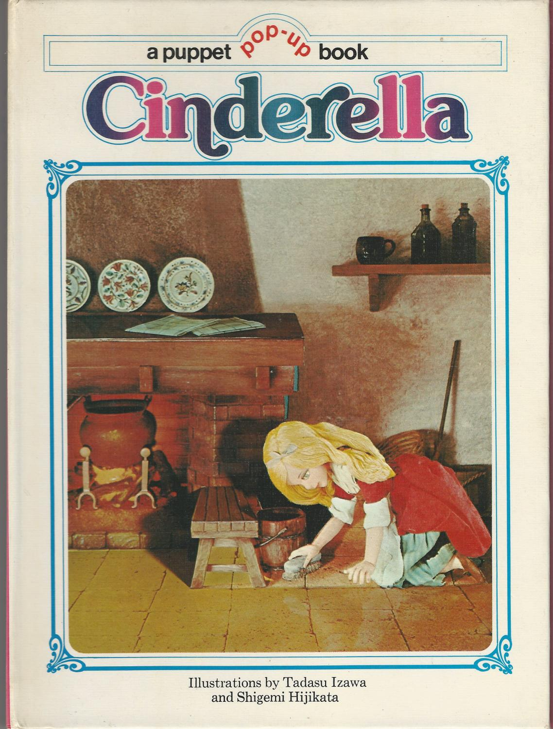 Pop Up Book Cover Cinderella A Puppet Pop Up Book