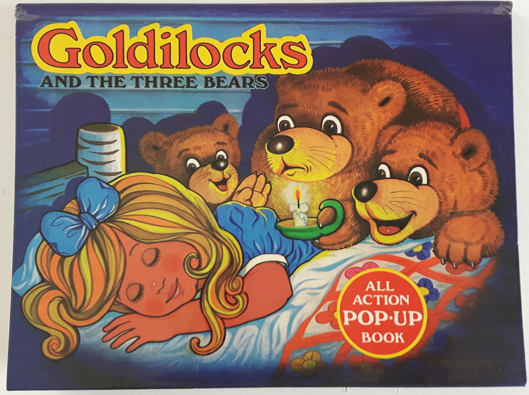 Pop Up Book Cover Goldilocks And The Three Bears All Action