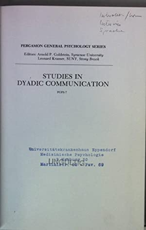 studies dyadic communication - AbeBooks