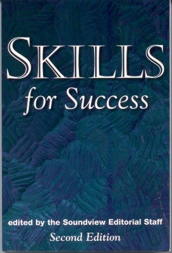 Skills for Success (Second Edition by Soundview Editorial Staff - executive summaries books