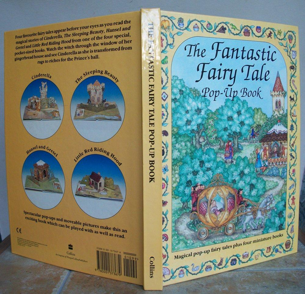 Book Plus S Pop Up The Fantastic Fairy Tale Pop Up Book