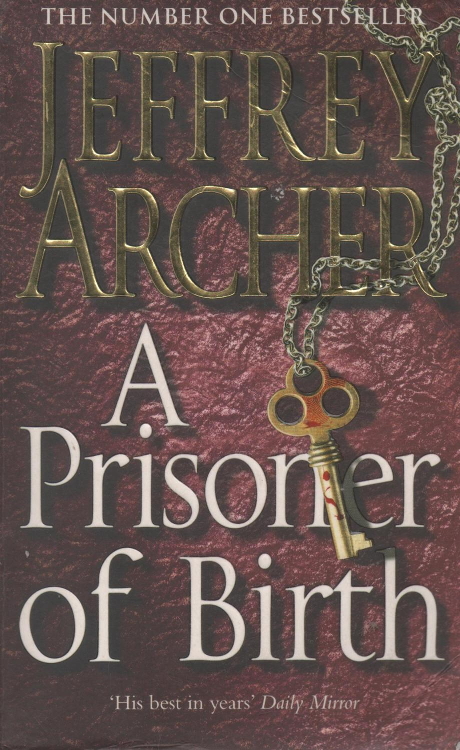Jeffrey Archer Libros A Prisoner Of Birth