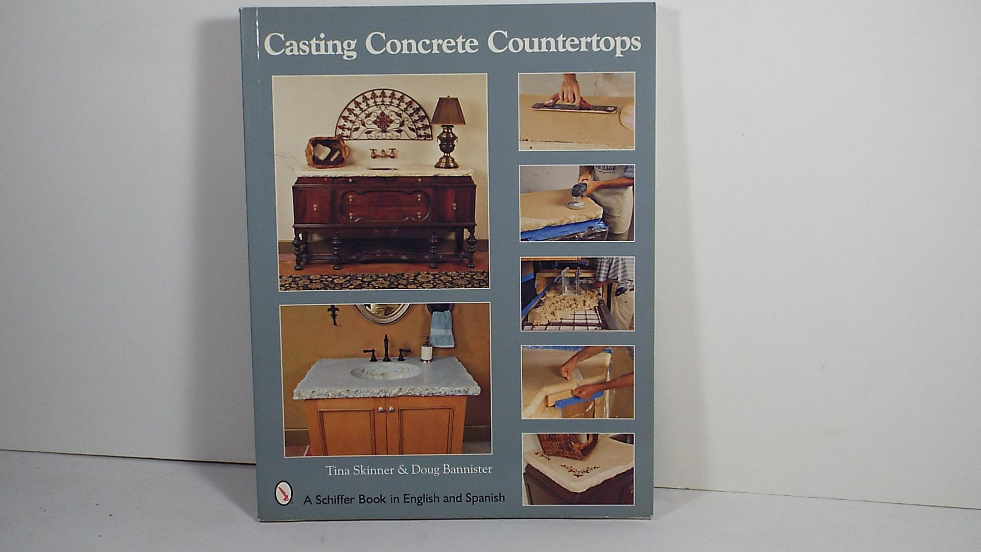 Concrete Countertops Book Casting Concrete Countertops