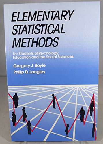 9780080344263 Elementary Statistical Methods For Students of