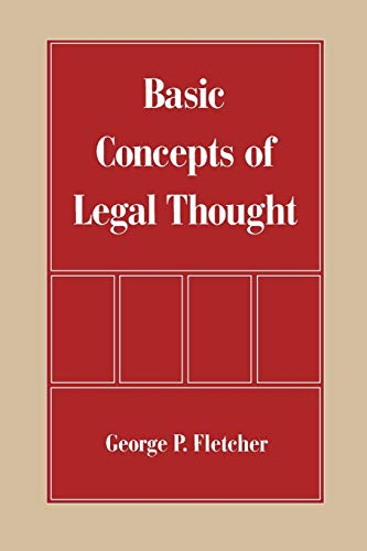 9780195083361 Basic Concepts of Legal Thought - AbeBooks - George P
