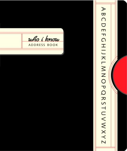 9780307338938 Who I Know Mini Address Book - AbeBooks - Potter