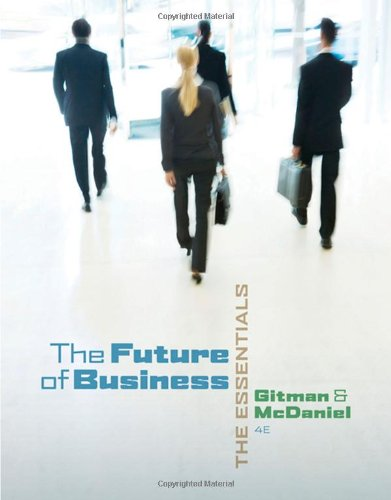 9780324590760 The Future of Business The Essentials (with Building - building your career