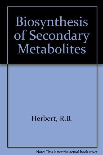9780412163807 Biosynthesis of Secondary Metabolites - AbeBooks