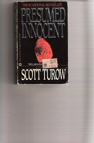 Presumed Innocent by Scott Turow, First Edition - AbeBooks - Presumed Innocent Author