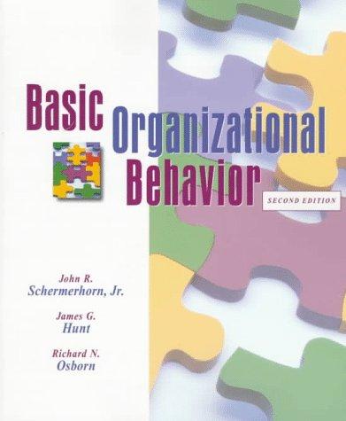 9780471190264 Basic Organizational Behavior - AbeBooks - John R