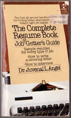 9780671831851 The Complete Resume Book  Job-Getter\u0027s Guide