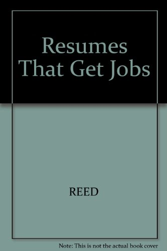 9780671864040 Resumes That Get Jobs (Arco Resumes That Get Jobs