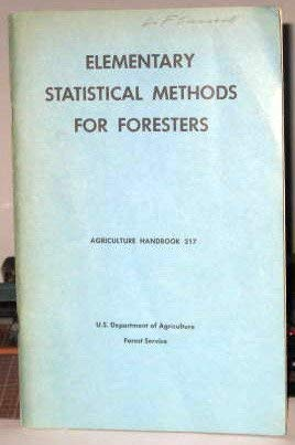 Elementary statistical methods foresters - AbeBooks
