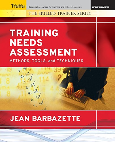 Training Needs Assessment Methods, Tools, and Techniques Format - needs assessment format