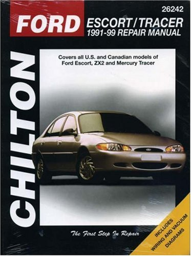 chilton - ford escort mercury tracer - AbeBooks