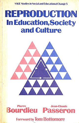 9780803999954 Reproduction in Education, Society and Culture (Sage