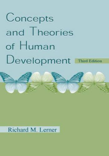 9780805827989 Concepts and Theories of Human Development - AbeBooks